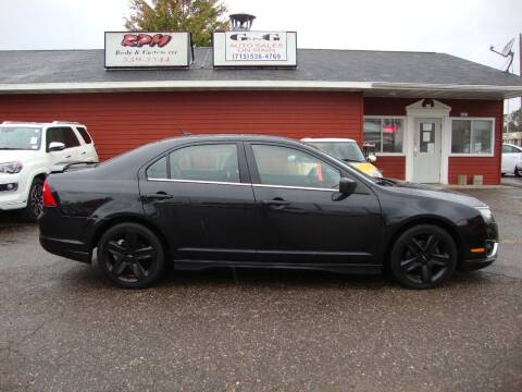 2010 Ford Fusion for sale at G and G AUTO SALES in Merrill WI