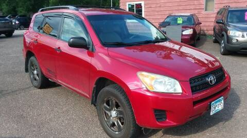 2010 Toyota RAV4 for sale at Sunrise Auto Sales in Stacy MN
