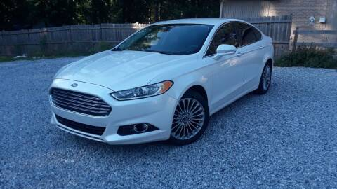 2014 Ford Fusion for sale at Don Roberts Auto Sales in Lawrenceville GA