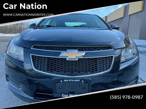 2014 Chevrolet Cruze for sale at Car Nation in Webster NY