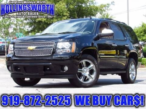 2014 Chevrolet Tahoe for sale at Hollingsworth Auto Sales in Raleigh NC