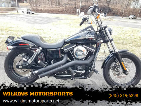 2016 Harley-Davidson Street Bob for sale at WILKINS MOTORSPORTS in Brewster NY