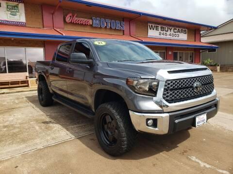 2021 Toyota Tundra for sale at Ohana Motors in Lihue HI