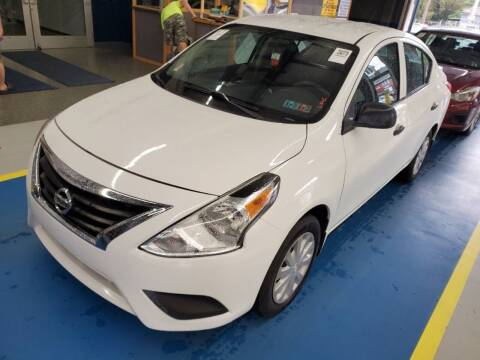 2015 Nissan Versa for sale at Franklyn Auto Sales in Cohoes NY