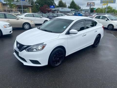 2016 Nissan Sentra for sale at TacomaAutoLoans.com in Lakewood WA