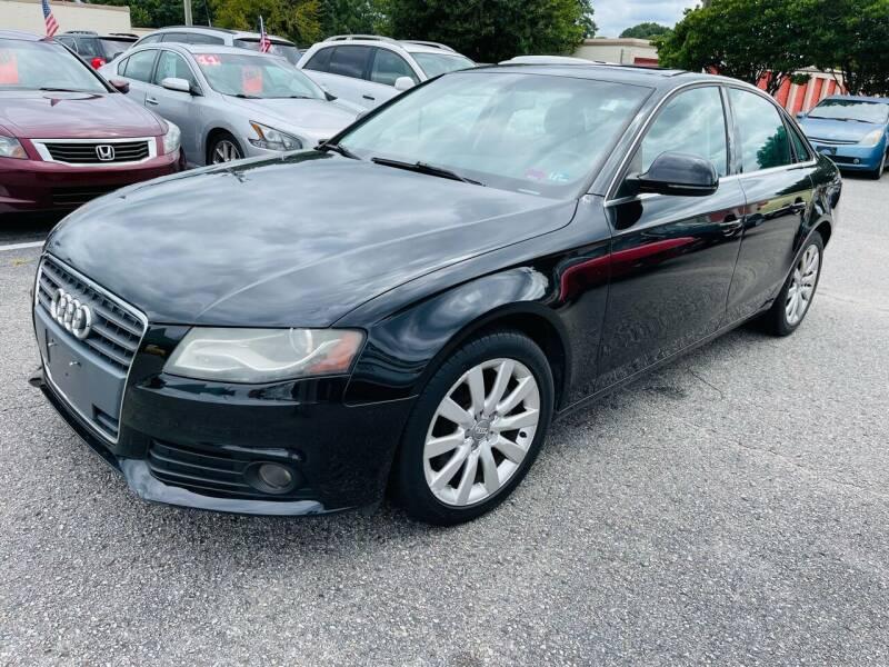 2009 Audi A4 for sale at VENTURE MOTOR SPORTS in Virginia Beach VA