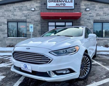 2018 Ford Fusion for sale at GREENVILLE AUTO in Greenville WI