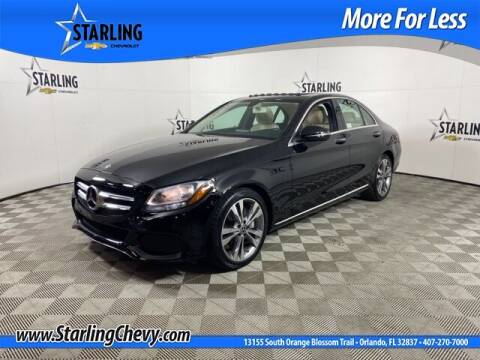 2018 Mercedes-Benz C-Class for sale at Pedro @ Starling Chevrolet in Orlando FL