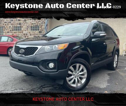 2011 Kia Sorento for sale at Keystone Auto Center LLC in Allentown PA