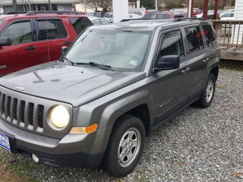 2012 Jeep Patriot for sale at Premier Auto Sales Inc. in Newport News VA