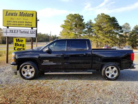 2014 Chevrolet Silverado 1500 for sale at Lewis Motors LLC in Deridder LA