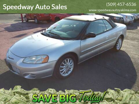 2002 Chrysler Sebring for sale at Speedway Auto Sales in Yakima WA