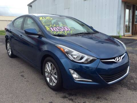 2015 Hyundai Elantra for sale at Road Runner Autoplex in Russellville AR