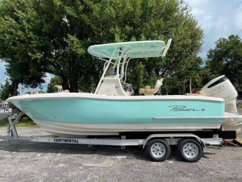 2021 Pioneer 222 Sportfish for sale at Key West Kia - Wellings Automotive & Suzuki Marine in Marathon FL
