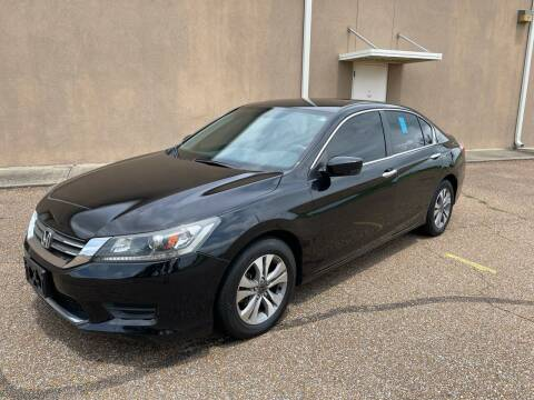 2014 Honda Accord for sale at The Auto Toy Store in Robinsonville MS