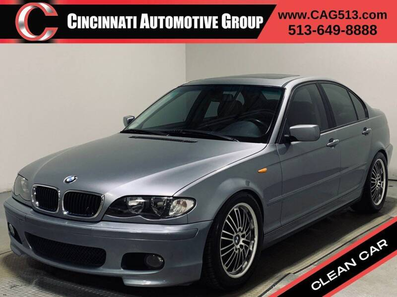 2004 BMW 3 Series for sale at Cincinnati Automotive Group in Lebanon OH