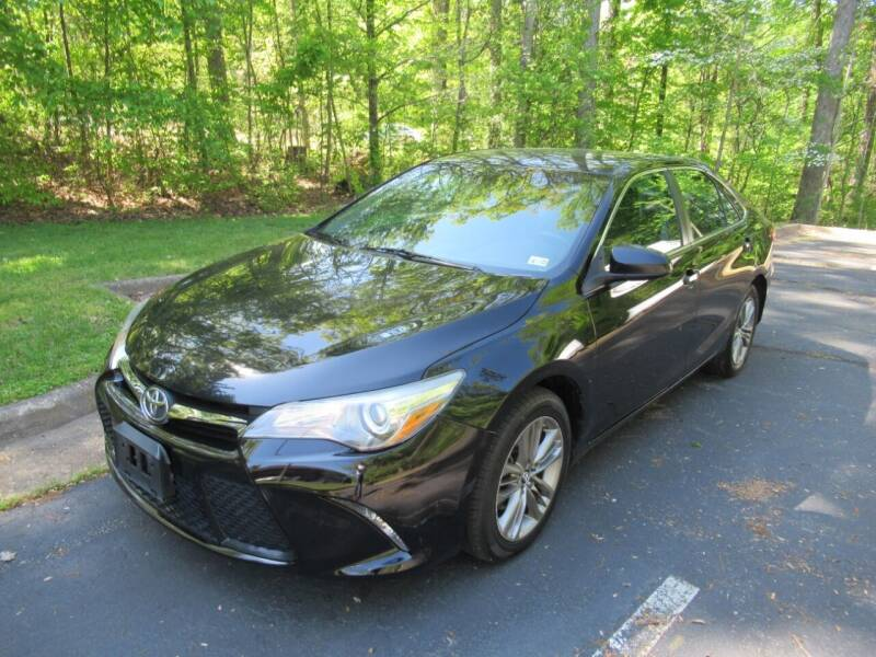 2015 Toyota Camry for sale at 4Auto Sales, Inc. in Fredericksburg VA