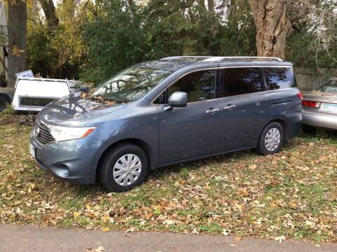 2012 Nissan Quest for sale at Sparkle Auto Sales in Maplewood MN