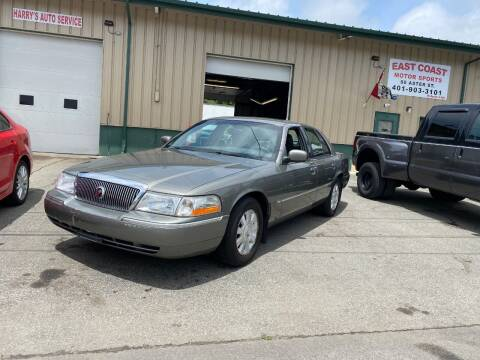 2003 Mercury Grand Marquis for sale at East Coast Motor Sports in West Warwick RI