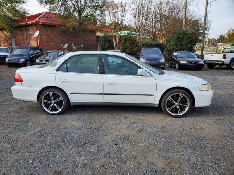 1998 Honda Accord for sale at United Auto LLC in Fort Mill SC
