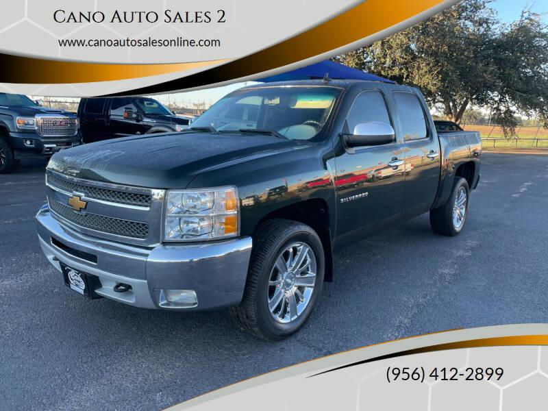 2013 Chevrolet Silverado 1500 for sale at Cano Auto Sales 2 in Harlingen TX