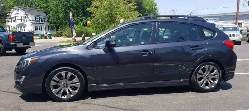 2016 Subaru Impreza for sale at Healey Auto in Rochester NH