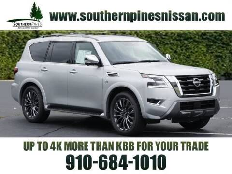 2021 Nissan Armada for sale at PHIL SMITH AUTOMOTIVE GROUP - Pinehurst Nissan Kia in Southern Pines NC