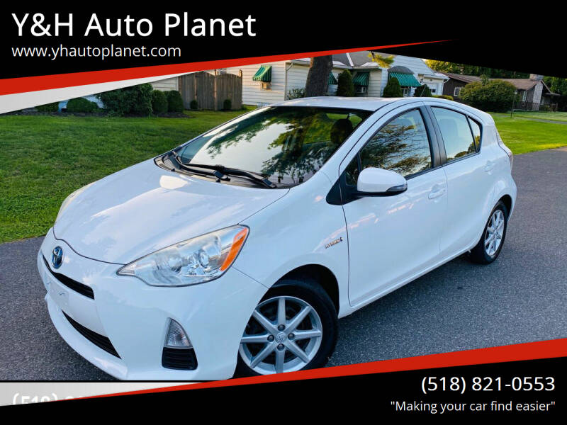 2012 Toyota Prius c for sale at Y&H Auto Planet in West Sand Lake NY