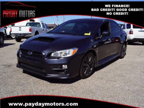 2015 Subaru WRX for sale at Payday Motors in Wichita KS
