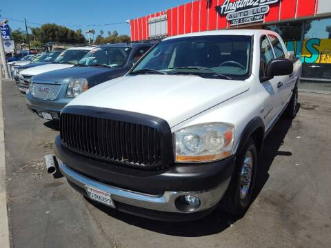 2006 Dodge Ram Pickup 1500 for sale at ANYTIME 2BUY AUTO LLC in Oceanside CA