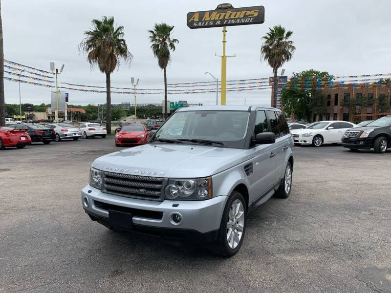 2009 Land Rover Range Rover Sport for sale at A MOTORS SALES AND FINANCE in San Antonio TX