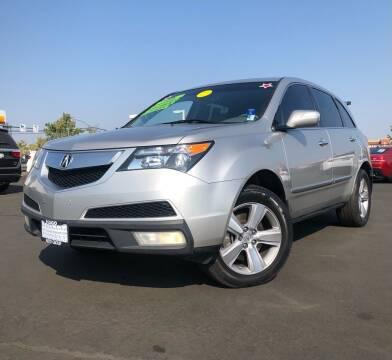 2012 Acura MDX for sale at LUGO AUTO GROUP in Sacramento CA