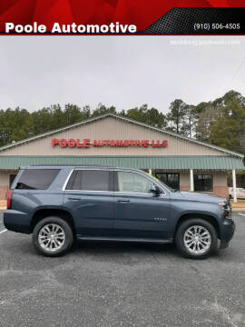 2019 Chevrolet Tahoe for sale at Poole Automotive in Laurinburg NC