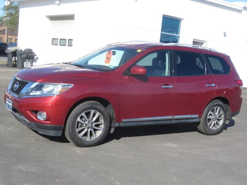 2014 Nissan Pathfinder 4x4 SL 4dr SUV - Concord NH