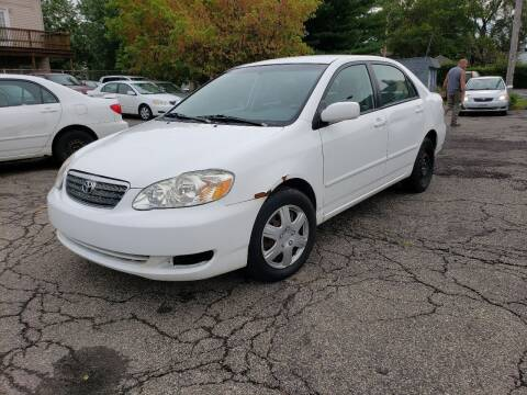 2008 Toyota Corolla for sale at USA AUTO WHOLESALE LLC in Cleveland OH