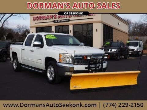 2011 Chevrolet Silverado 1500 for sale at DORMANS AUTO CENTER OF SEEKONK in Seekonk MA