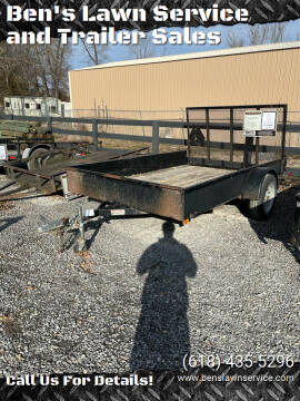 2005 Teske 77X10 Utility for sale at Ben's Lawn Service and Trailer Sales in Benton IL