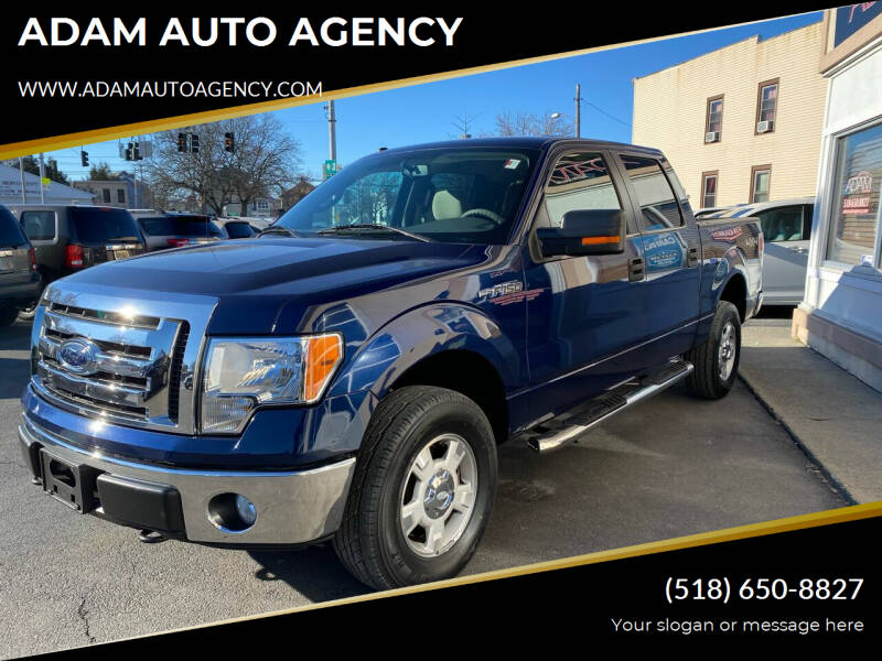 2010 Ford F-150 for sale at ADAM AUTO AGENCY in Rensselaer NY