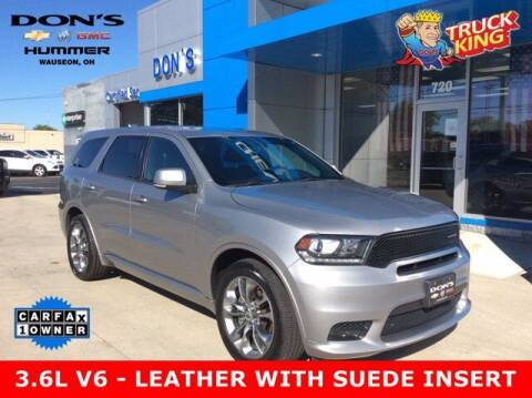 2019 Dodge Durango for sale at DON'S CHEVY, BUICK-GMC & CADILLAC in Wauseon OH