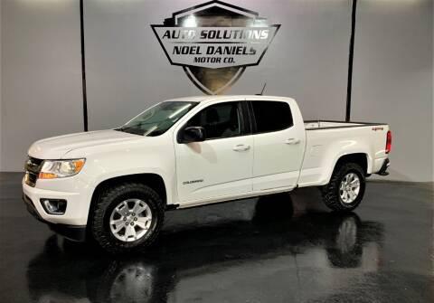 2017 Chevrolet Colorado for sale at Noel Daniels Motor Company in Ridgeland MS