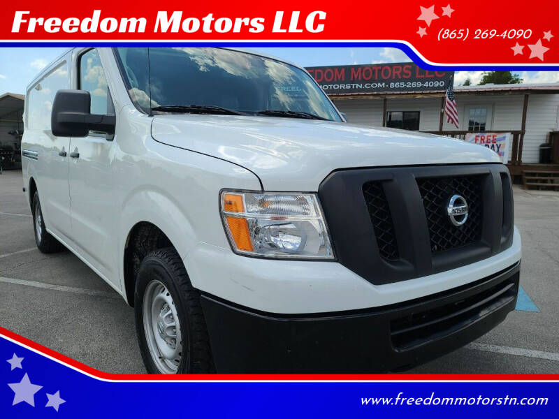 2017 Nissan NV Cargo for sale at Freedom Motors LLC in Knoxville TN