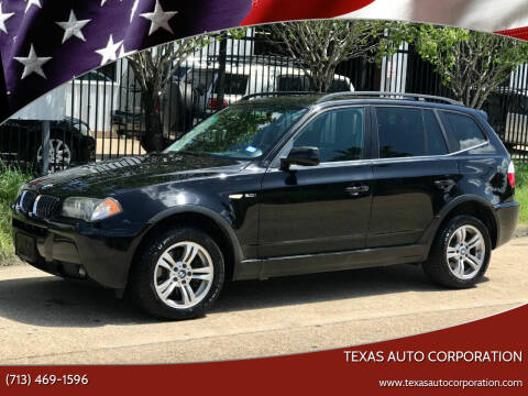 2006 BMW X3 for sale at Texas Auto Corporation in Houston TX