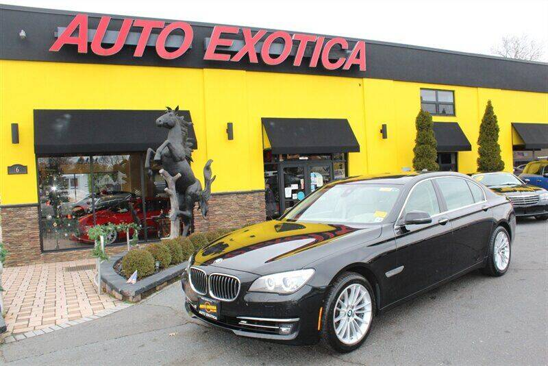 2013 BMW 7 Series for sale at Auto Exotica in Red Bank NJ