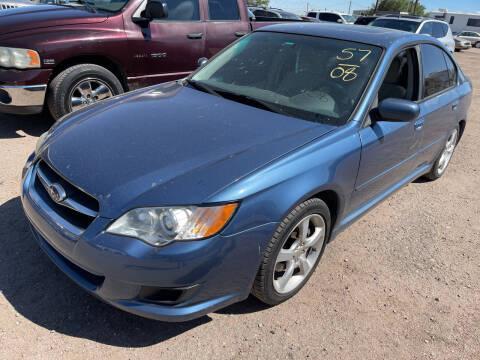 2008 Subaru Legacy for sale at PYRAMID MOTORS in Pueblo CO