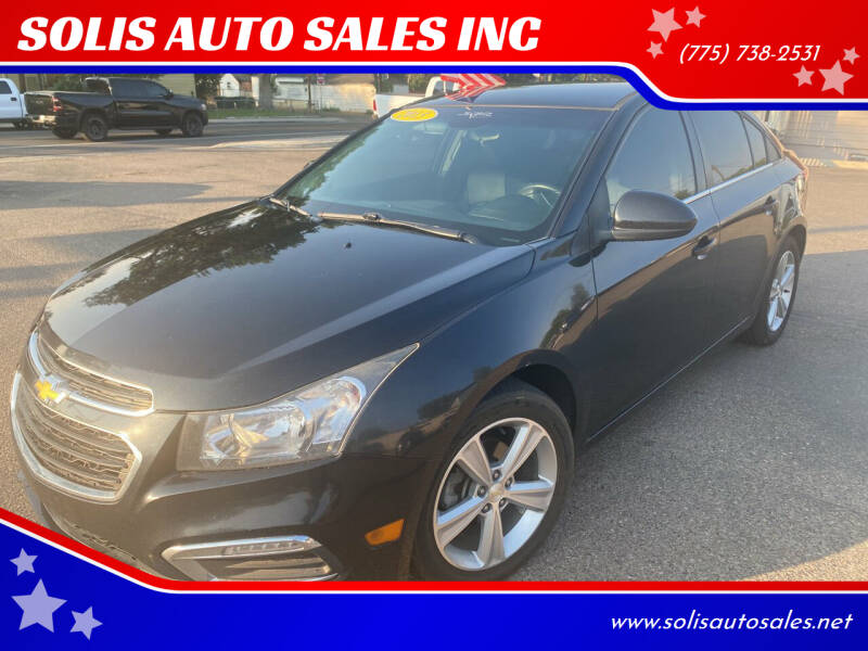 2015 Chevrolet Cruze for sale at SOLIS AUTO SALES INC in Elko NV