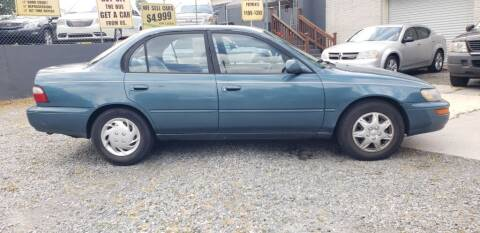 1996 Toyota Corolla for sale at On The Road Again Auto Sales in Doraville GA