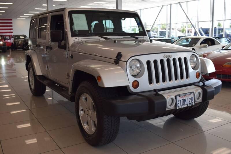 2012 Jeep Wrangler Unlimited for sale at Legend Auto in Sacramento CA