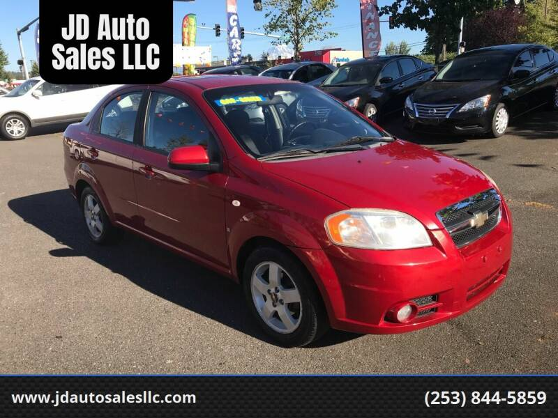2007 Chevrolet Aveo for sale at JD Auto Sales LLC in Fife WA