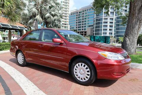 2002 Toyota Camry for sale at Choice Auto in Fort Lauderdale FL