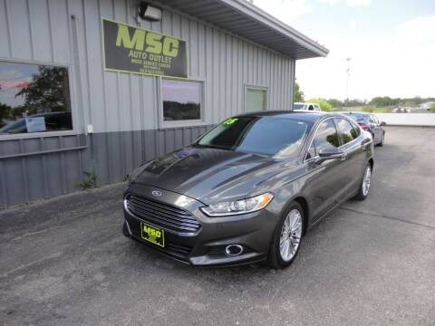 2015 Ford Fusion for sale at Moss Service Center-MSC Auto Outlet in West Union IA